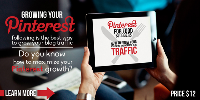 Pinterest for Food Bloggers: NOW Available for Download!
