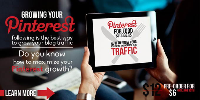 Pinterest For Food Bloggers eBook Pre-Order
