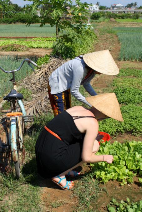 Vietnam: Baby Mustard Cooking Class {Hoi An} | thekitchenpaper.com