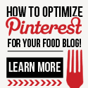 Pinterest For Food Bloggers