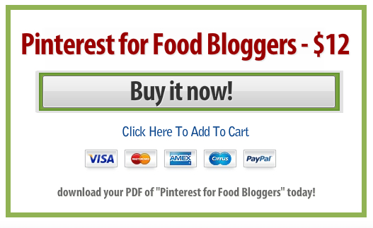 Pinterest for Food Bloggers eBook