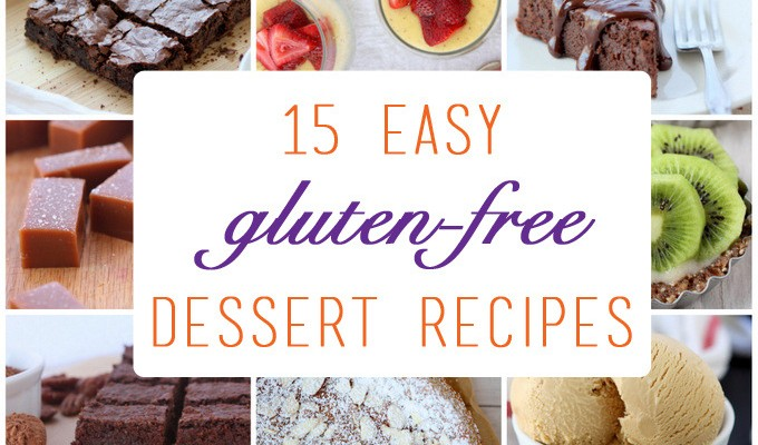 15 Easy Gluten-Free Dessert Recipes