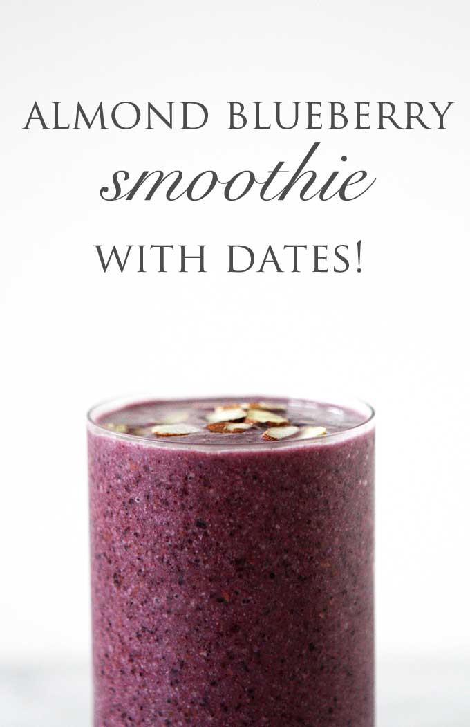 Smoothie with dates