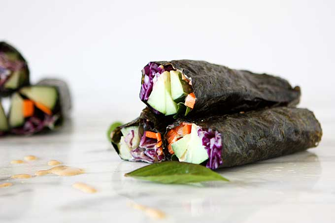 Nori Salad Wraps