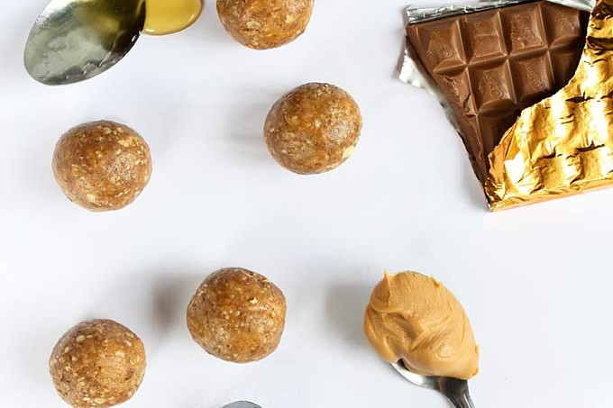 Cinnamon Peanut Butter Maca Power Balls