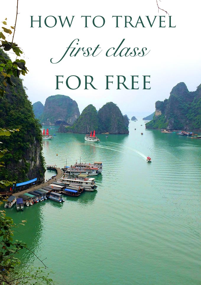 How to Travel First Class for Free