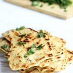 Quick Naan without Yeast | thekitchenpaper.com