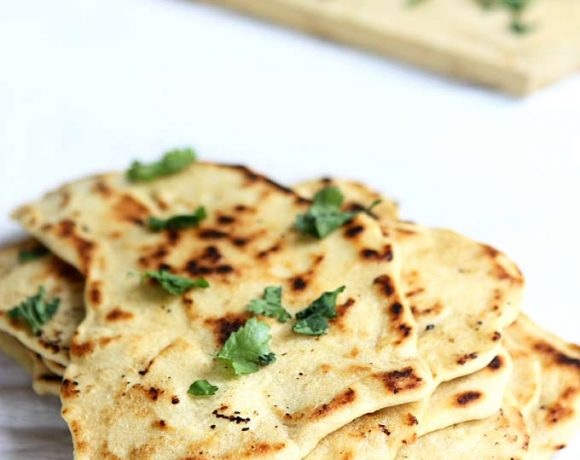 Quick Naan without Yeast