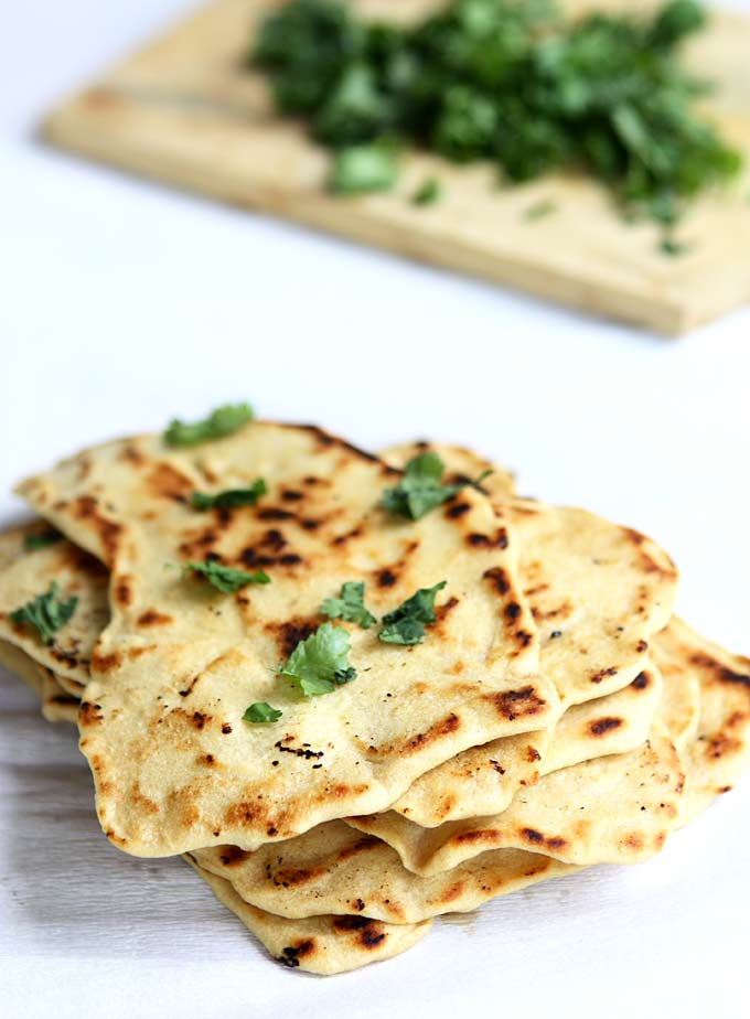 Quick Naan Without Yeast Recipe