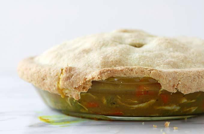 Chicken Curry Pot Pie | thekitchenpaper.com