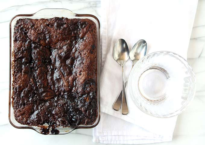 Hot Fudge Pudding Cake | thekitchenpaper.com