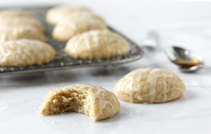 Salty Honey Cookies | thekitchenpaper.com