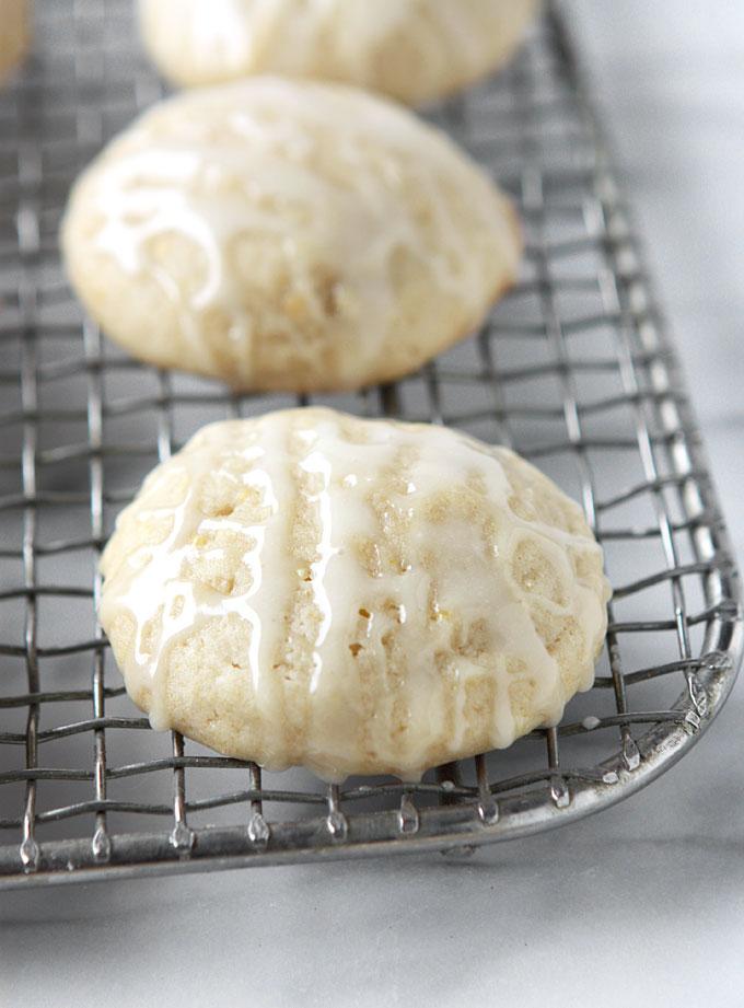 Salty Honey Cookies   thekitchenpaper.com
