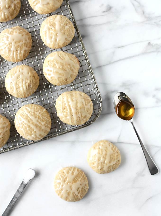 Salty Honey Cookies