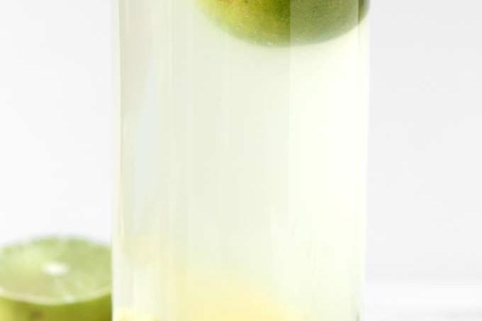 Hot Honey Ginger Lime Tea