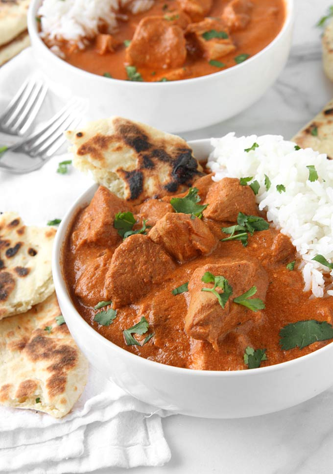 Healthy Slow Cooker Indian Butter Chicken Recipe