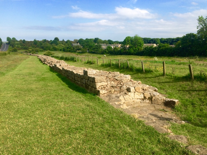 Part of Hadrian's Wall!