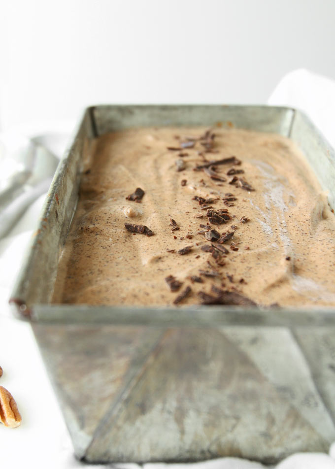 Chipotle Adobo Chocolate Pecan Ice Cream   thekitchenpaper.com