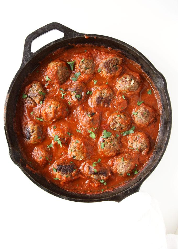 Classic Spaghetti and Meatballs | thekitchenpaper.com