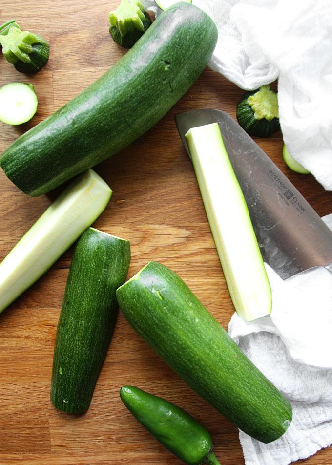 Jalapeño Zucchini Fritters | thekitchenpaper.com