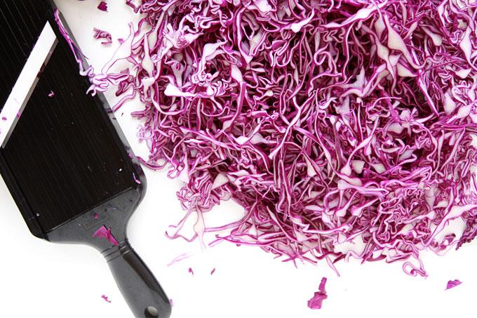 Purple Sauerkraut | thekitchenpaper.com