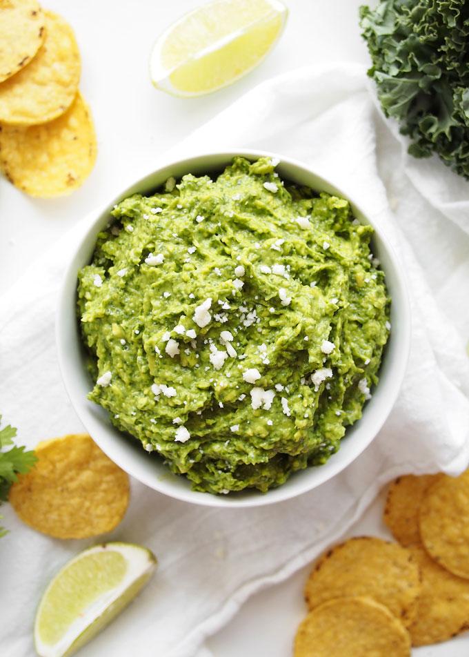 Kale Guacamole | thekitchenpaper.com