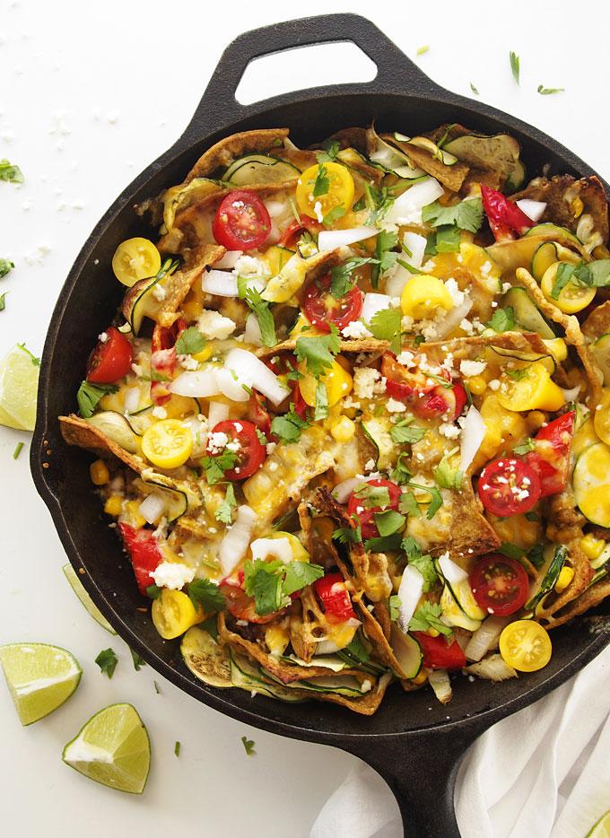 Chorizo Veggie Jimmy Nardello Chilaquiles