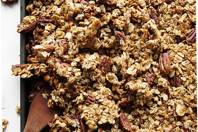 Nutty Cardamom Granola