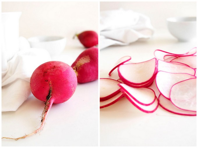 Curried Butter Radishes | thekitchenpaper.com