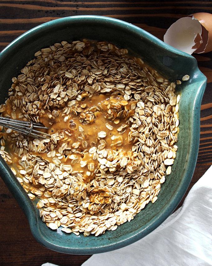 Pumpkin Spice Baked Oatmeal | thekitchenpaper.com