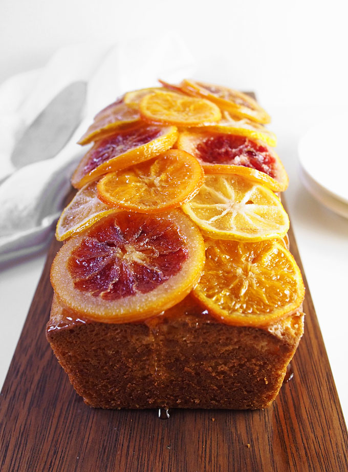 Candied Citrus Ricotta Cake