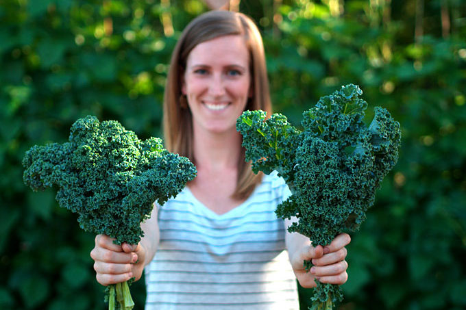 Everyday Garlicky Kale