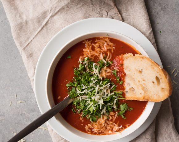 Roasted Chili Tomato Soup