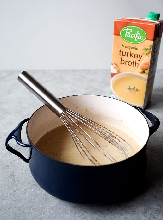 Traditional Turkey Gravy | thekitchenpaper.com