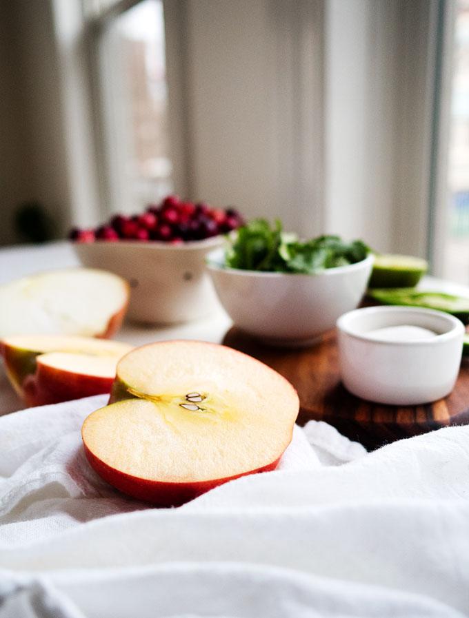 Apple-Cranberry Salsa | thekitchenpaper.com