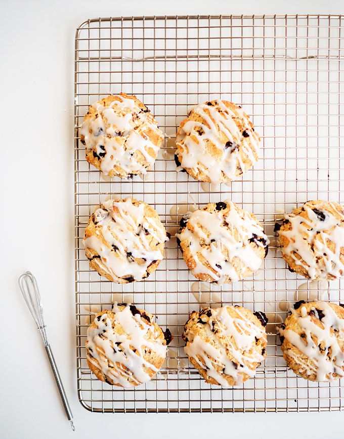 Dark Chocolate Cranberry Scones Recipe | The Kitchen Paper