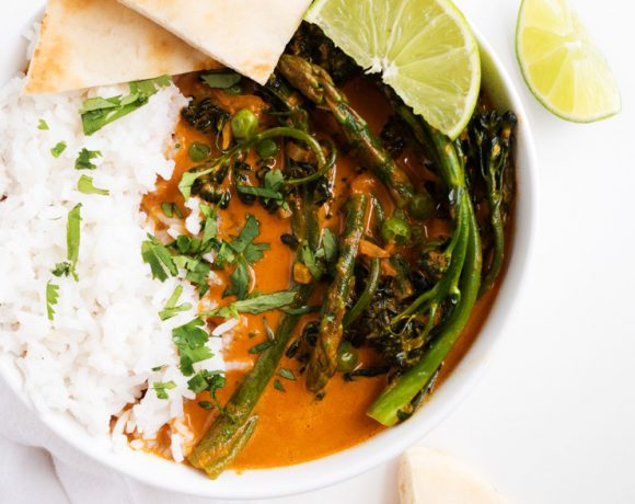 Spring Vegetable Red Curry