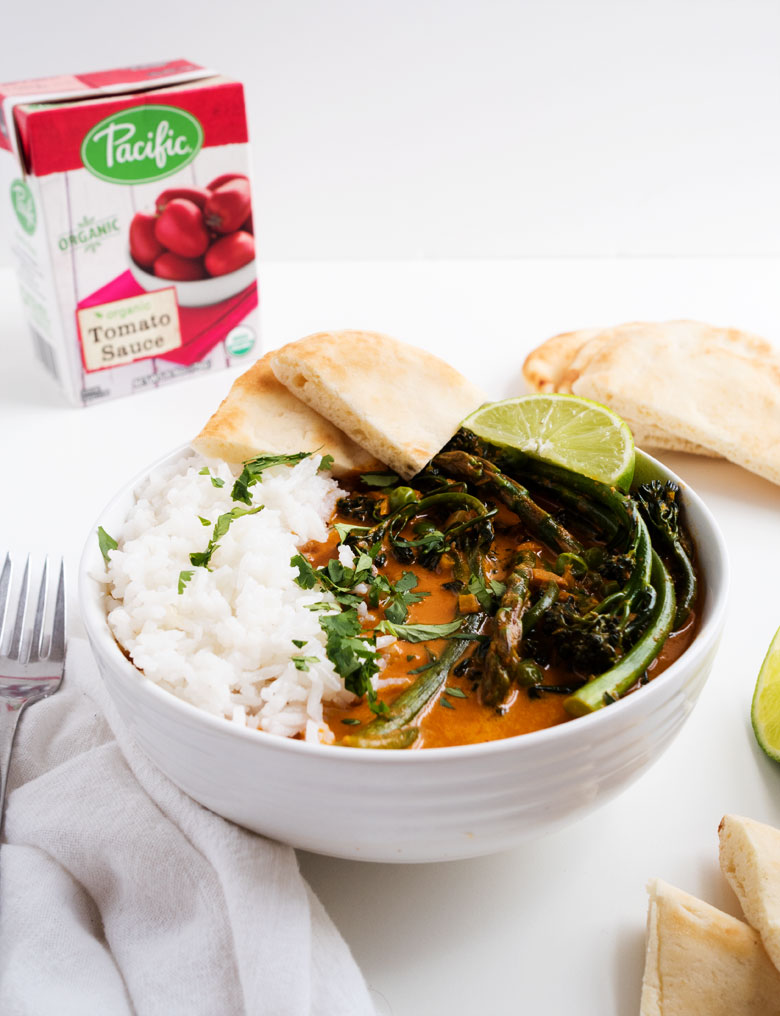 Spring Vegetable Red Curry | the kitchen paper