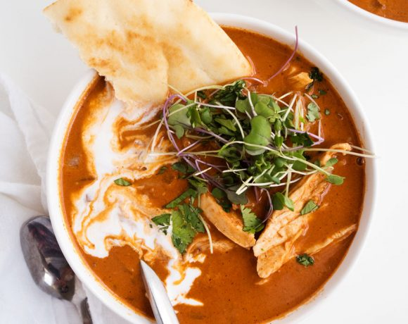 Butter Chicken Soup
