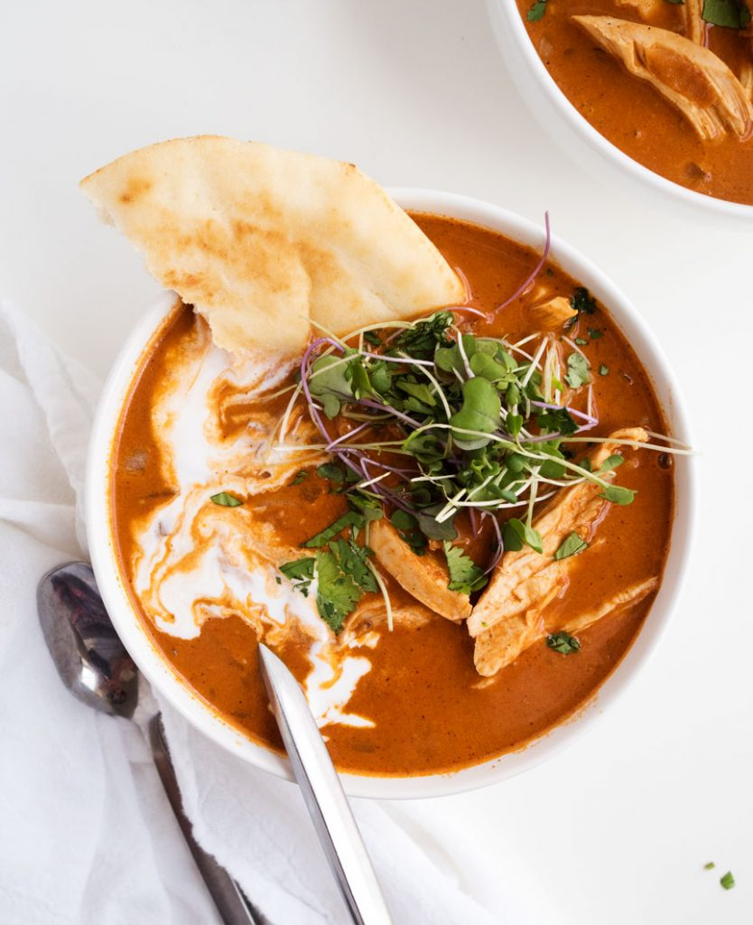 Butter Chicken Soup | The Kitchen Paper