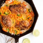 Coconut-Lime Chicken with Mini Peppers | thekitchenpaper.com