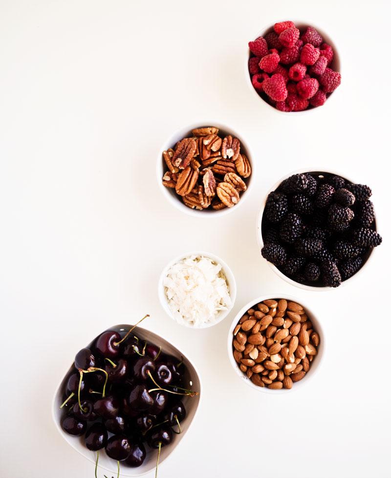 Brûléed Oats with Nuts & Berries: 3 Ways | thekitchenpaper.com