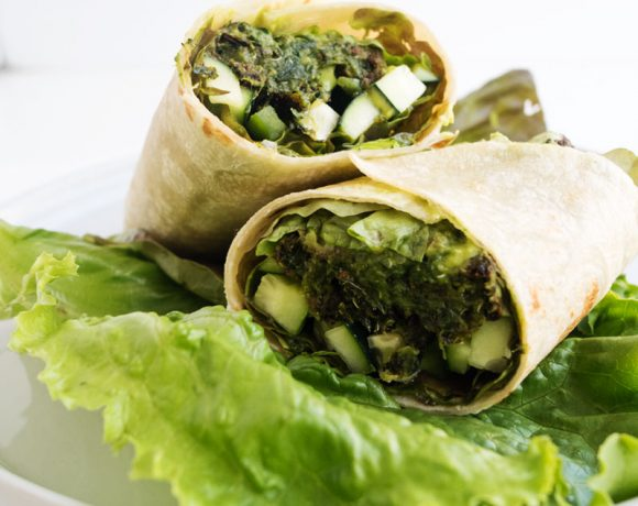 All Green Veggie Wrap