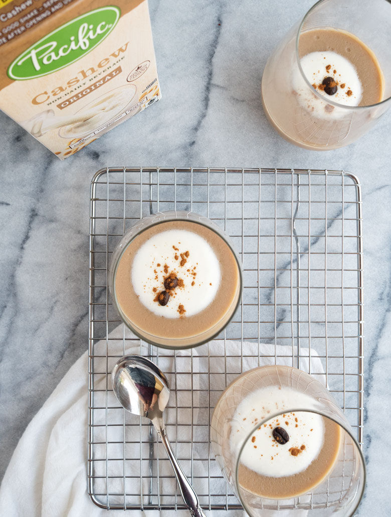 Cashew Milk Chai Pudding | The Kitchen Paper