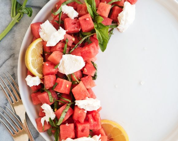 Watermelon Burrata Salad