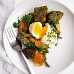 Root Vegetable and Greens Breakfast Hash | The Kitchen Paper
