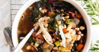 Classic White Bean Soup | The Kitchen Paper