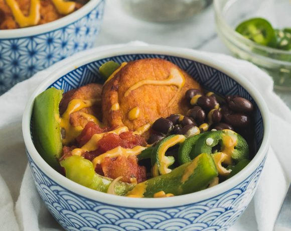 Loaded Sweet Potato Bowls
