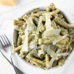 Creamy Pesto Pasta | thekitchenpaper.com
