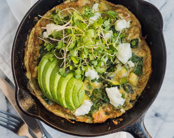 Super Greens Frittata